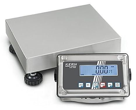 Balanza de plataforma con protección contra el polvo y las salpicaduras [Kern SFE 10K-