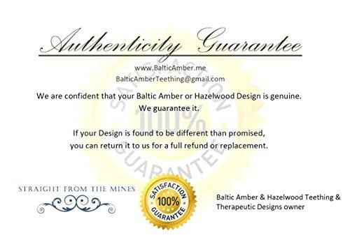 Amazon.com : Baltic Amber Teething Necklace Raw Multi 12.5 Inch ...