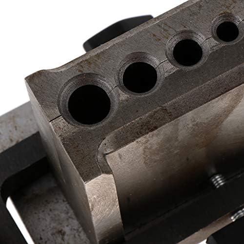 リバーシブルワイヤープレート溶融鋳造用調整可能インゴット金型精錬金銀銅アルミニウム黄銅貴金属 - 5穴