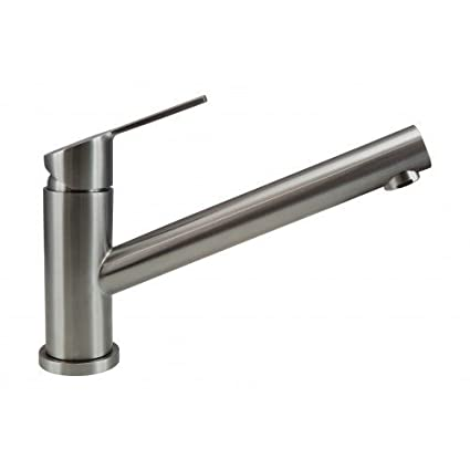 Marvelous Mizzo Design 10088 Stainless Steel Kitchen Tap Single Lever Handle One Hole Brushed Nickel Faucet Modern Kitchen Sink Mixer Tap 5 Years Home Interior And Landscaping Synyenasavecom