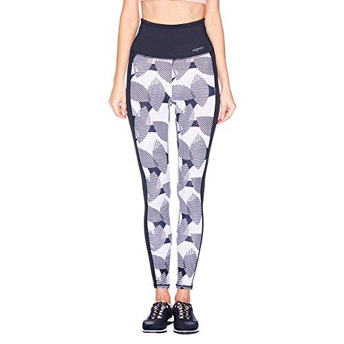 Regna X Womens Leggings, Plus size Elastic Waist band Leggings, Grey,XL, X-Large