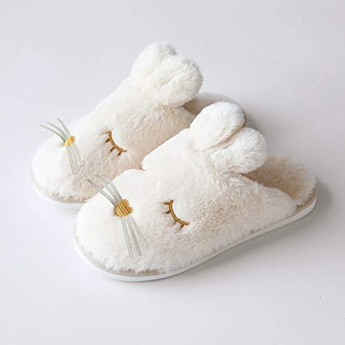 inverno A coperta carino cotone caldi casa autunno YMFIE antiscivolo peluche e Pantofole pantofole in tTxwnAaqO8
