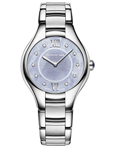 Raymond Weil Women's 5132-ST-00955 Noemia Analog Display Quartz Silver Watch