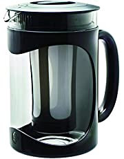 Primula Burke Cold Brew Iced Coffee Maker - Glass Carafe 1.6 Qt (51.2 oz), Black
