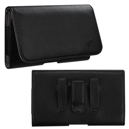Vertical Flip Leather Cover for Sony Xperia C3 (Black) - 4