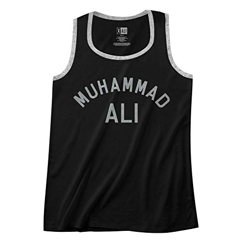 American Classics Muhammad Ali 60s Goat Greatest Boxer Of All Time Adult Ringer Tank Top Tee