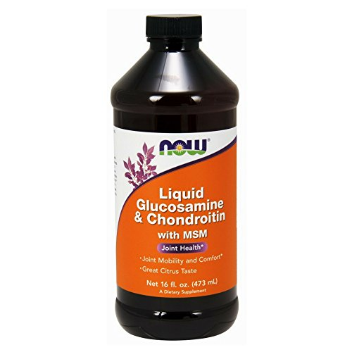 NOW Glucosamine Chondroitin Liquid 16 Ounces