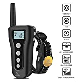 Peteme Dog Training Collar-Rechargeable with Beep/Vibra/Electric Shock ,100% Waterproof Training Collar, Up to 1200Ft Remote Dog Shock Electric Collar For Sale