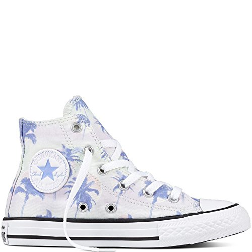 Converse Unisex Adults' Chuck Taylor CTAS Hi Cotton Fitness Shoes Green (Barely Green/Twilight Pulse 315)