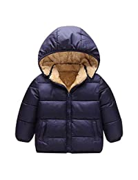 OCEAN-STORE Kids Baby Girl Boy 12 Months-6T Hooded Jacket Outerwear Clothes