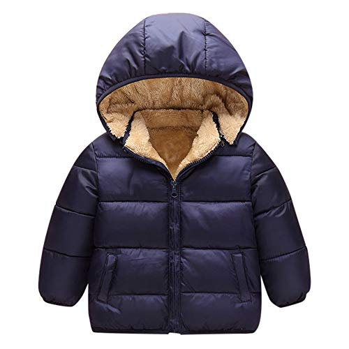 VEKDONE Winter Coats Kids Hoods Super Warm Light Puffer Jacket Baby Boys Girls, Infants, Toddlers