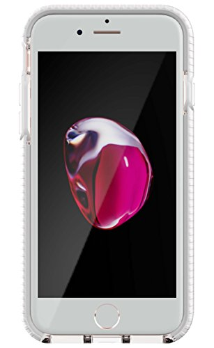Check Tech (Tech21 Evo Check for iPhone 7 - Clear/White)