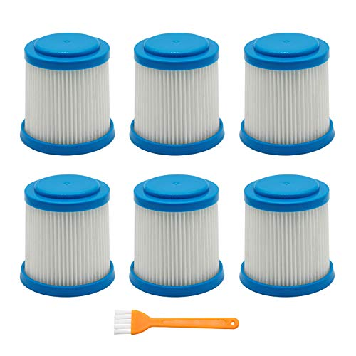 - Lemige 6 Packs VPF20 Replacement Filters for Black and Decker Smartech Pet Lithium 2-in-1 Cordless Stick Vacuum