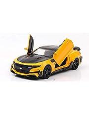Chevrolet 1:32 Super Sports Car Model, Yellow