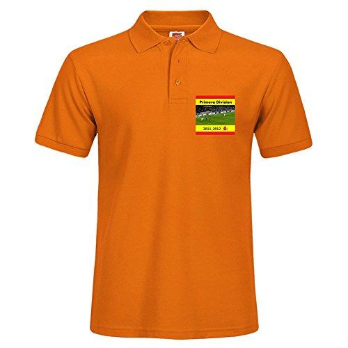 Orange Kurz Polo mit verschiedenen Style Sport Herren Polo Shirt Größe XXL Uniform