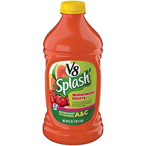 - V8 Splash Watermelon Cherry, 64 oz. Bottle