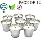 Best Citronella Candles - Howemon Citronella Scented Candles,Soy Wax Bucket Candle Seaside Review