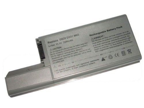 Gaisar Super-Capacity Laptop Replacement Battery for Dell Compatible Models Li-ion 11.1V 7800mAh 86wHr 9 Cells One Year Warranty ()