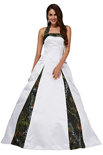 formal camouflage wedding dresses - 9