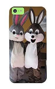 Hot Tpu Cover Case For Iphone/ 5c Case Cover Skin - Encargo De La Felpa De La Mascota De Bug Bunny Para La Celebraciones