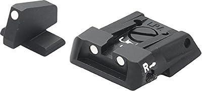 H&K Adjustable Sight Set White Dot P30 by LPA