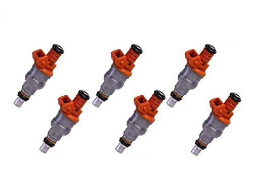 (USA Re-manufactured OEM Fuel Injectors / 6-piece/GENUINE Part # 0280150774 / for 1992-1993 Chrysler Lebaron 3.0L V6)