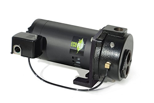 ECO-FLO Products EFCWJ7 Deep Water Well Jet Pump, 3/4 Hp, 7 (0.75 Hp Deep Well)