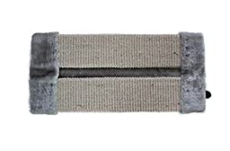 Freerun Sisal Wall Saver Corner Cat Scratcher Mat Scratch Pad - Grey