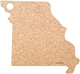 product image for Epicurean, Natura State of Missouri Cutting and Serving Board, 12.5 11.5-Inch, Natural, Inch Inch