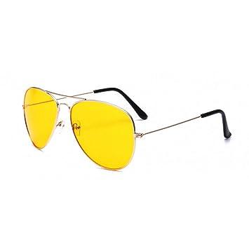 HYUHYU Aviador Piloto Gafas De Sol Mujeres Vintage Gafas ...