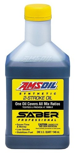 AMSOIL Saber Professional Synthetic 2-Stroke Oil 1 for sale  Delivered anywhere in USA