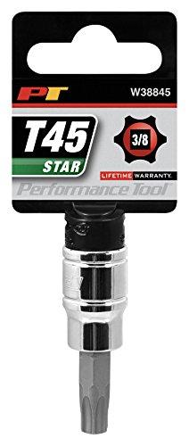 Performance Tool W38845 Star Bit Socket, 3/8