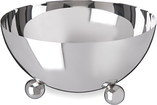 Carlisle 609173 Allegro Stainless Steel 18-10 Display Bowl, 48 fl. oz. Capacity, 7