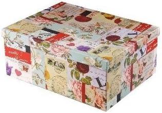 Juego 15 Cajas almacenaje (con caja para guardar Con tapa Caja Caja de cartón caja: Amazon.es: Hogar