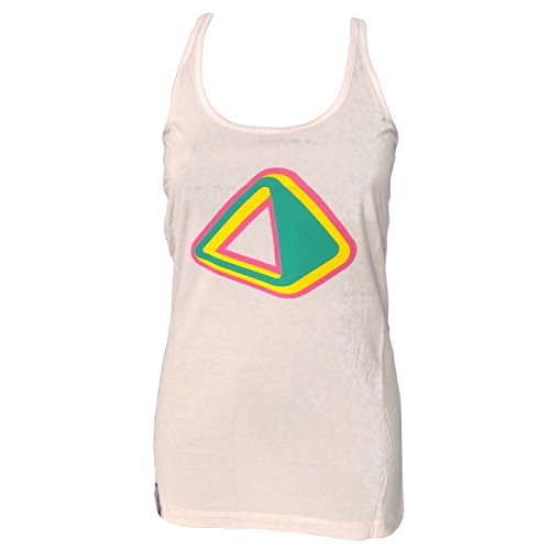 Amnesia Ibiza: Cosmic Camiseta de Tirantes Mujer Crema