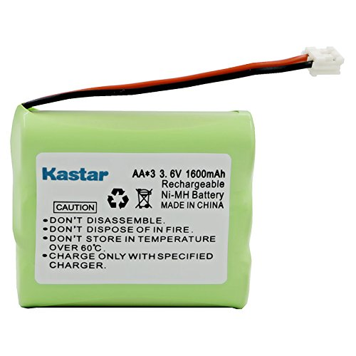 Kastar Cordless Phone Battery Replacement for G.E./RCA