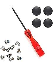 "Padarsey 4 Pack Rubber Case Feet+Set of 10pcs Repair Replacement Screw+1pcs 5 Point Pentalobe Screwdriver Compatible for MacBook Pro Retina A1425 A1502 A1398 13"" 15"" Bottom Case(MacBook Pro Retina)"