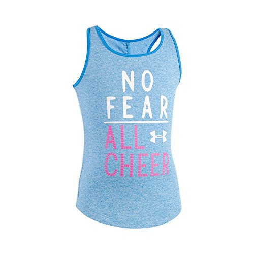 Price comparison product image Under Armour Little Girls' Active Tank Tops, Blue Lotus Comingle, 6