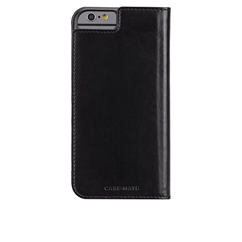 Case-Mate iPhone 6 Case - WALLET FOLIO - Leather iPhone Wallet - ID + Cards + Cash - Apple iPhone 6 / iPhone 6s - Black
