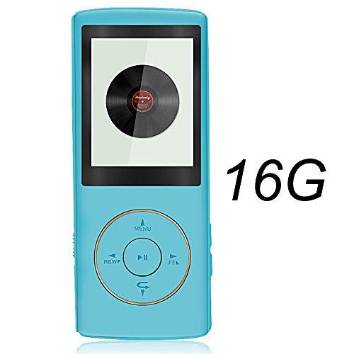 """Btopllc Beweglicher Verlustloser Ton MP3-Player Beweglicher 1.81 """"LCD MP3 / MP4 Spieler 16GB mit Mini-USB-Hafen"""