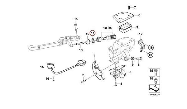 BMW Genuine Motorcycle Turn Indicator Rear Turn Signal Lights Lamp Lens R1100GS R1100R R850 R1100S R1200C R1200 Montauk K1200RS R1200CL K1200RS R1150GS R1150 Adventure R1150R