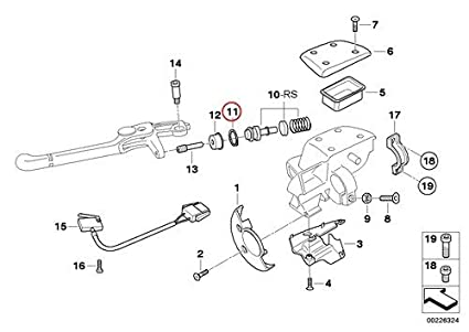 Amazon Com Bmw Genuine Motorcycle Handbrake Lever Brake Clutch Lock