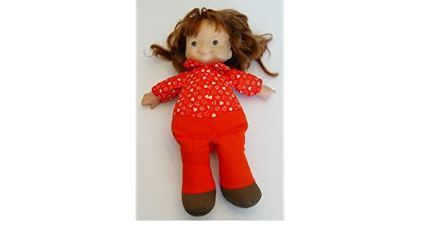 1973 Fisher Price Audrey Lapsitter Baby Doll 12""