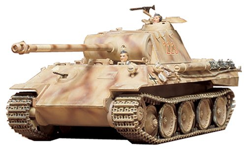 Tamiya 1/35 German Panther Med Tank Kit (Tamiya German Panther)