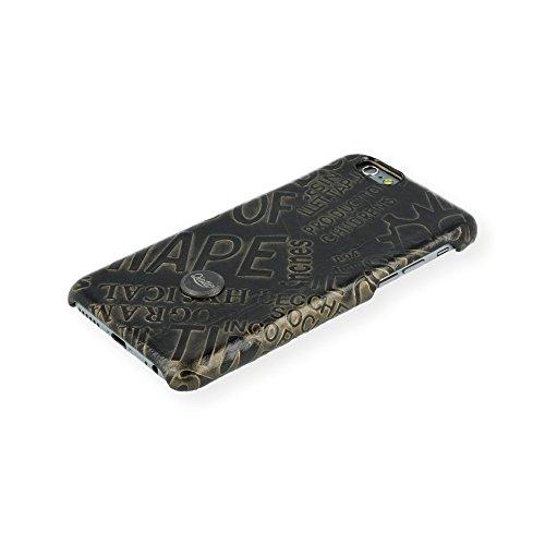 QIOTTI QX-C-0930-07-IP6 Snapcase Q.Snap News Premium Echtleder für Apple iPhone 6/6S schwarz