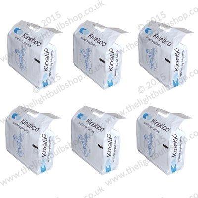 -[ Kinetico Block Salt 6 Bags of 8kg (12 Blocks in total)  ]-