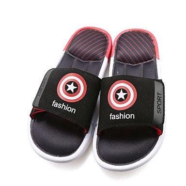 Sandalias de verano para hombres Zapatillas casual/Playa/Hogar Moda superhéroes de la Marvel zapatillas multicolor Azul oscuro