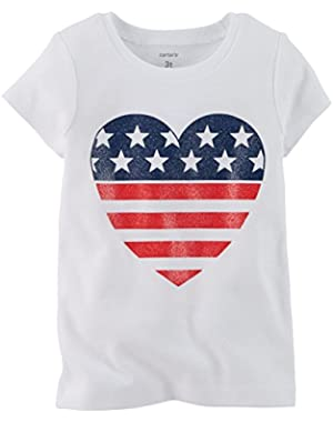 Baby Girls' 4th Of July Tee