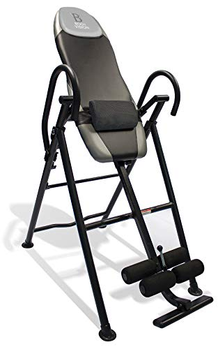 Body Vision IT9550 Deluxe Inversion Table with Adjustable Head Pillow & Lumbar Support Pad
