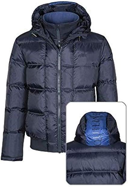 Equiline Elliot Mens Down Jacket Blue